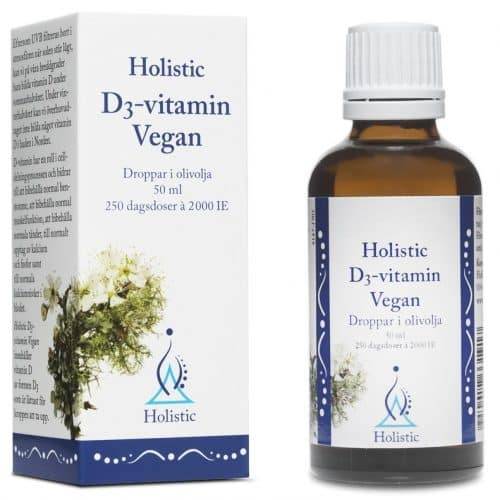 holistic vegan D-vitamin